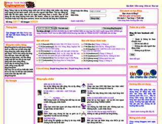 tranmaihuongsg.blogtiengviet.net screenshot