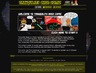 tranquilitybasecomic.co.uk screenshot