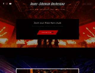 trans-siberian.com screenshot