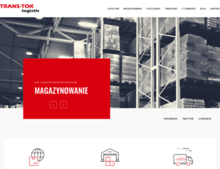 trans-tok.com.pl screenshot