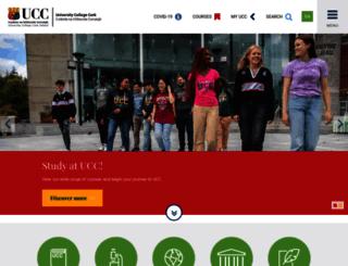 trans.ucc.ie screenshot