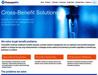 transactrx.com screenshot