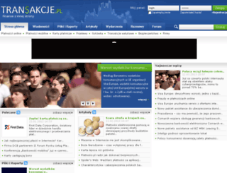 transakcje.pl screenshot