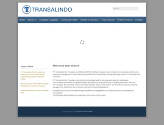 transalindo.co.id screenshot