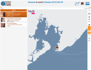 transat-jacques-vabre.geovoile.com screenshot