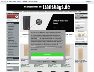 transbags.de screenshot