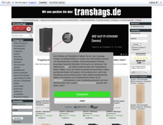 transbags.de screenshot