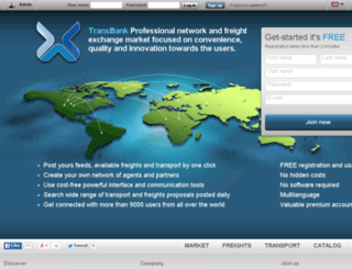 transbank.eu screenshot