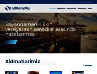 transbroker.az screenshot