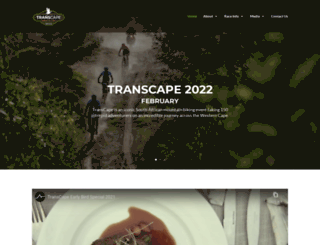 transcapemtb.co.za screenshot