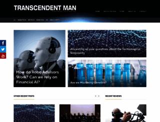 transcendentman.com screenshot