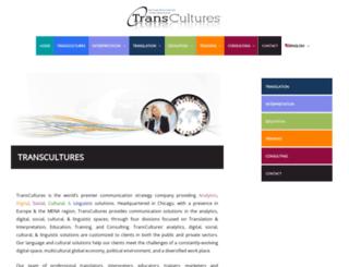 transcultures.com screenshot