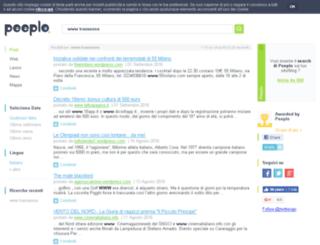 transenna.splinder.com screenshot