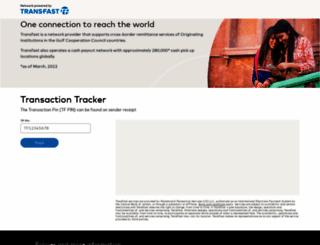 transfast.com screenshot