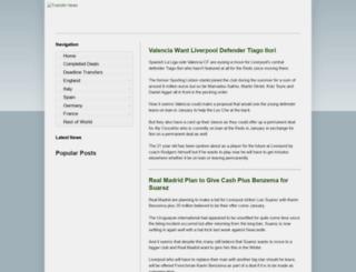 transfer-news.blogspot.com.au screenshot