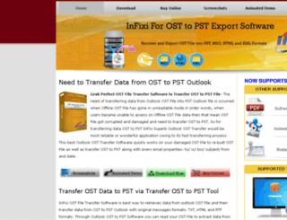 transfer.osttopstexport.com screenshot