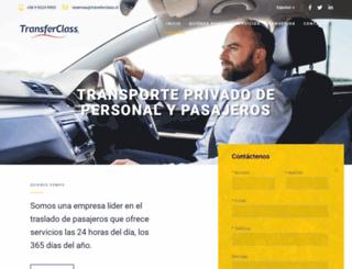 transferclass.cl screenshot