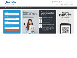 transferline.plataforma10.com screenshot