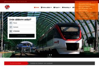 transferoviarcalatori.ro screenshot