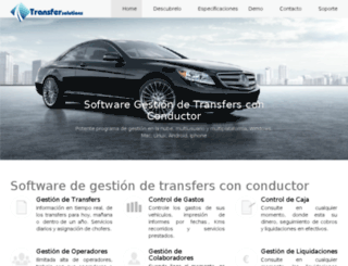 transfersolutions.es screenshot