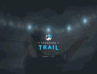transfertrail.com screenshot