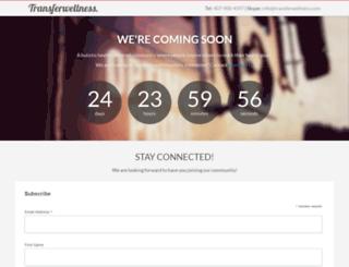 transferwellness.com screenshot