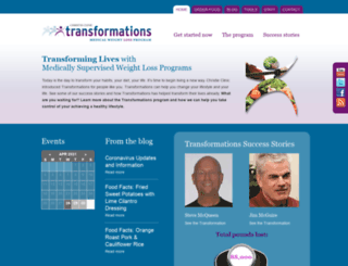 transformations.christieclinic.com screenshot