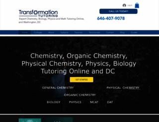 transformationtutoring.com screenshot