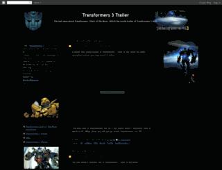 transformers-3-movie-trailer.blogspot.com screenshot