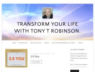 transformyourlife4ever.wordpress.com screenshot