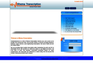transhubservices.com screenshot