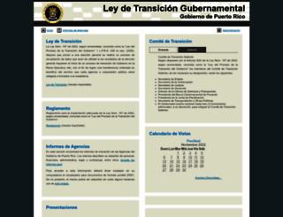 transicion.pr.gov screenshot