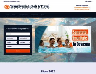 transilvaniatravel.com screenshot
