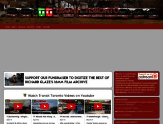 transit.toronto.on.ca screenshot