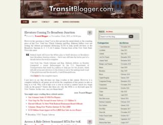 transitblogger.com screenshot