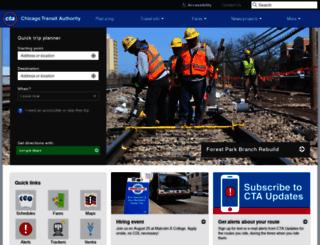 transitchicago.com screenshot