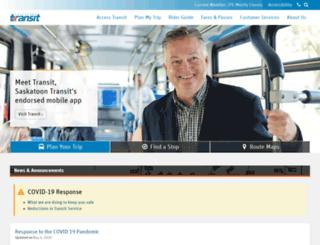 transitego.saskatoon.ca screenshot