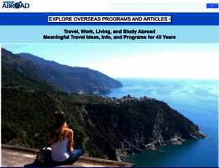 transitionsabroad.com screenshot