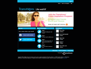 transitionsoptical.socialtoaster.com screenshot