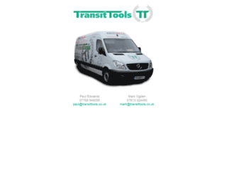 transittools.co.uk screenshot