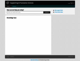 transl8.freshdesk.com screenshot