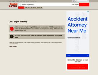 translate-latin.com screenshot