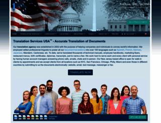 translation-services-usa.com screenshot