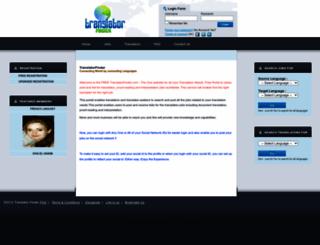 translatorfinder.com screenshot