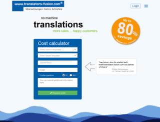 translators-fusion.com screenshot