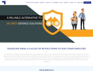 translineindia.com screenshot