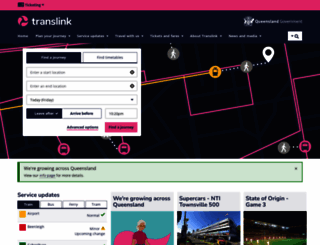 translink.com.au screenshot