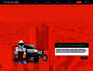 translogsas.com screenshot