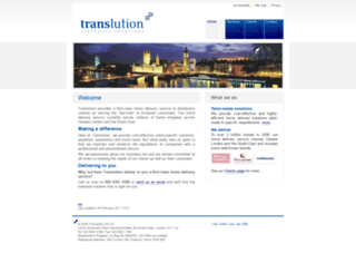 translution.co.uk screenshot