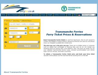 transmanche.co.uk screenshot